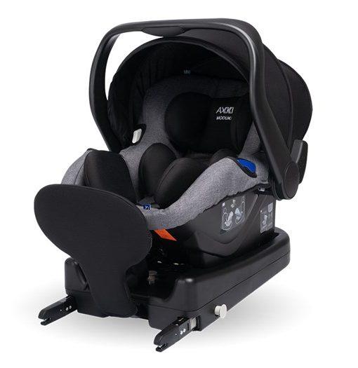 Axkid Modukid Infant babyskydd iSize 0-13 kg, grey