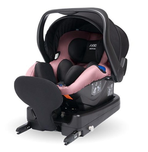 Axkid Modukid Infant babyskydd iSize 0-13 kg, pink