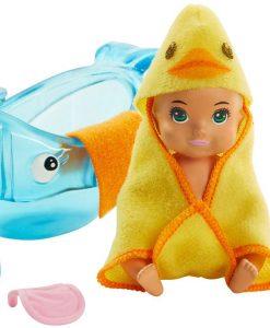 Barbie Skipper Babysitters Bathtime Lekset Med Docka