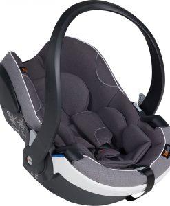 BeSafe iZi Go Modular X1 i-Size Babyskydd, Metallic Mélange