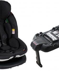 BeSafe iZi Modular RF X1 Ink. Bas, Premium Car Interior Black