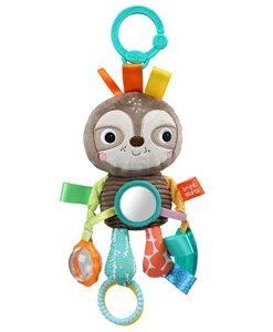 Bright Starts Playful Pals™ Sloth Aktivitetsleksak 0 - 12 mån