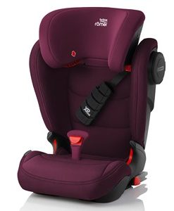Britax KIDFIX III S Bältesstol Burgundy Red One Size