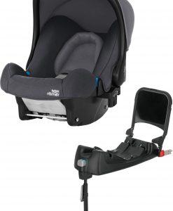 Britax Römer Baby-Safe Babyskydd inkl. Bas, Storm Grey