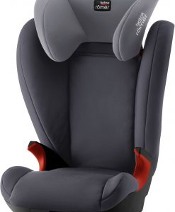 Britax Römer Kid II Bältesstol Black Series, Storm Grey