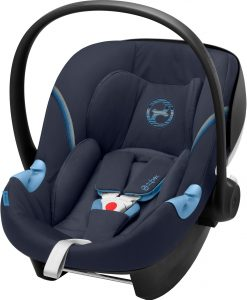 Cybex Aton M i-Size Babyskydd, Navy Blue