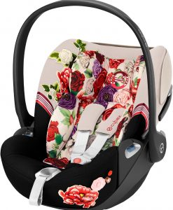 Cybex Cloud Z i-Size Babyskydd, Spring Blossom Light