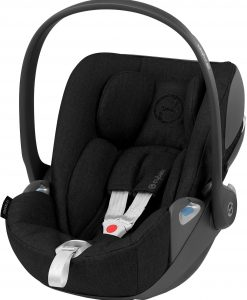 Cybex Cloud Z i-Size Plus Babyskydd, Deep Black
