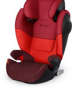 Cybex Solution M-Fix Bältesstol, Rumba Red