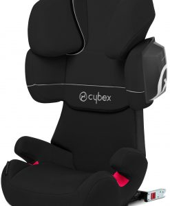 Cybex Solution X2-Fix Silver Line, Pure Black