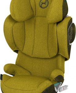 Cybex Solution Z i-Fix Plus, Mustard Yellow