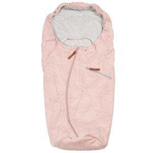 Easygrow LITE Car Seat Spring Footmuff Leaf Dusty Pink One Size