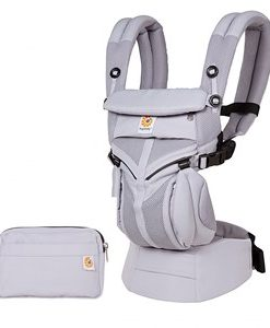 Ergobaby Omni 360 All-In-One Baby Carrier Air Mesh/Lilac Grey One Size
