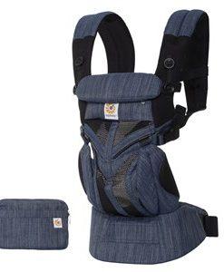 Ergobaby Omni 360 Cool Air Baby Bärsele Indigo One Size