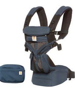 Ergobaby Omni 360 Cool Air Baby Bärsele Raven One Size