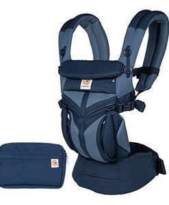 Ergobaby Omni 360 Cool Air Mesh Bärsele Tones of Blue One Size