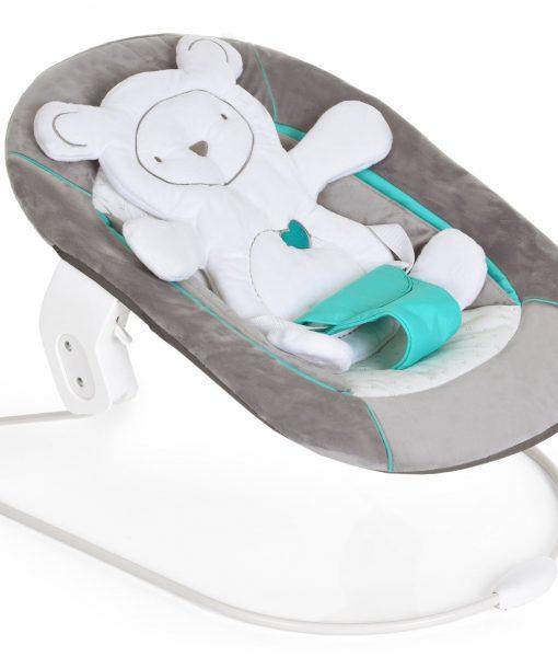 Hauck Alpha 2-i-1 Babysitter Hearts, Grey