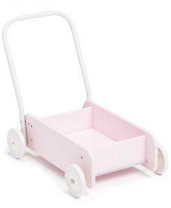 Hobie & Bear Lära-Gå-Vagn, Rosa