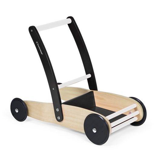 Inovi lära-gå-vagn stabil, sv/vit