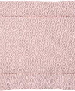 Jollein Lekmatta River Knit 100x80 cm, Pale Pink