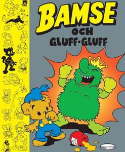 Kärnan Barnbok Bamse och Gluff-Gluff