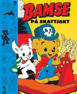 Kärnan Barnbok Bamse på Skattjakt