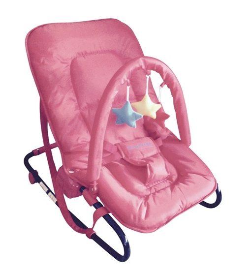 Kaxholmen – Babysitter Med Lekbåge – Rosa