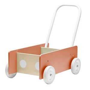 Kids Concept Lära Gå-Vagn Aprikos One Size