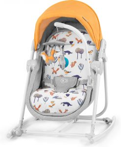 Kinderkraft 5-i-1 Unimo Babysitter 2020, forest yellow