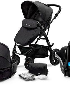 Kinderkraft Multipurpose 3-i-1 Moov Travelsystem, Black