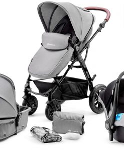 Kinderkraft Multipurpose 3-i-1 Moov Travelsystem, Grey