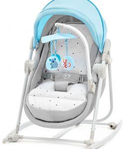 Kinderkraft Unimo Babysitter 5-i-1, Ljusblå
