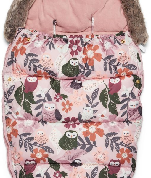 Petite Chérie Winter Owl Åkpåse, Pink