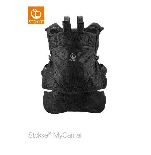 Stokke MyCarrier Back Carrier, black mesh