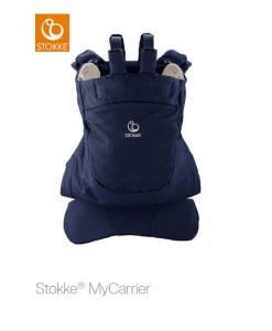 Stokke MyCarrier Back Carrier, deep blue
