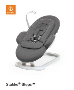Stokke Steps Bouncer babysitter, deep grey