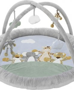 Teddykompaniet Diinglisar Wild Babygym, Grå