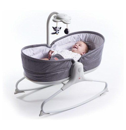 Tiny Love babysitter Rocker Napper 3-i-1, gråmelerad