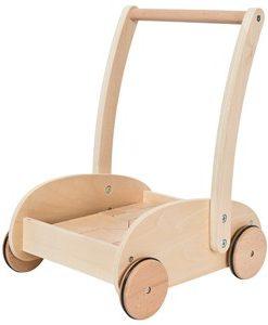 Wood Little Lära Gå-vagn 12+ mån