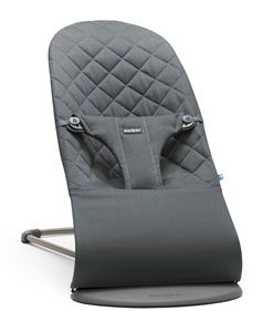 Babybjörn Bouncer Bliss Cotton Anthracite One Size