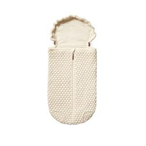 Joolz Honeycomb Footmuff Off-white One Size