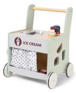 STOY Ice Cream Lära Gå-vagn 12+ mån