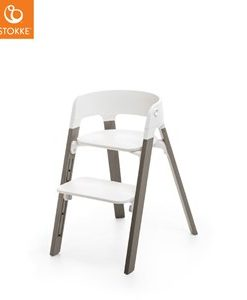Stokke Stokke® Steps™ Stol White/Hazy Grey One Size