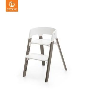Stokke Stokke® Steps™ Stol White/Hazy Grey One Size