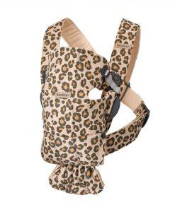 Bärsele Mini, Leopard Beige - Cotton