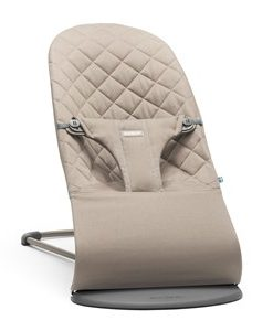 Babybjörn Bouncer Bliss Cotton Sand Grey One Size