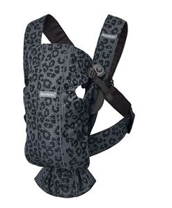 Babybjörn Mini Baby Carrier Anthracite Leopard - 3D Mesh One Size