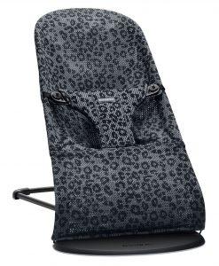 Babysitter Bliss Leopard Antracit - Mesh