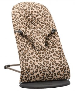 Babysitter Bliss Leopard Beige - Cotton