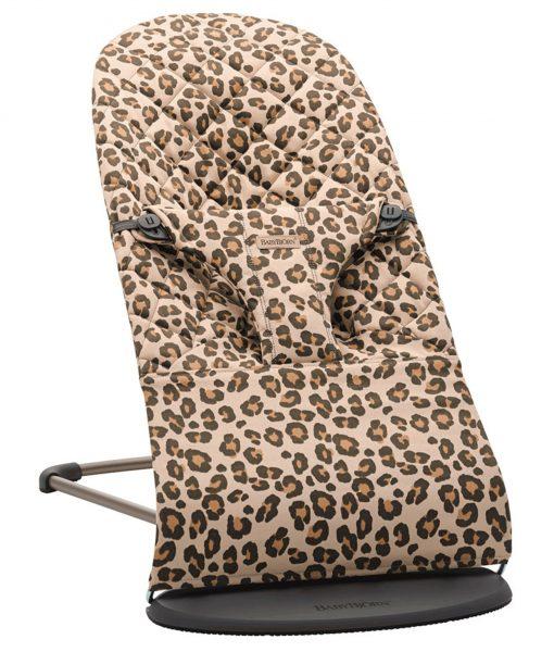 Babysitter Bliss Leopard Beige – Cotton